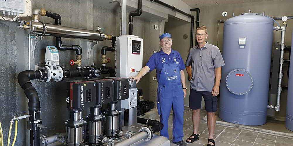 Nyt vandværk i Farstrup indvies med rundvisning